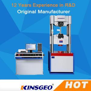China Computer Servo Electronic Hydraulic Universal Testing Machines For Metallurgy on sale