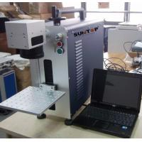 China Small size portable laser marking machine  , desktop marking and engraving machine for metal wholesale