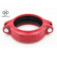 China CCC FM UL Good quality Rigid Coupling Ductile iron grooved fittings on sale