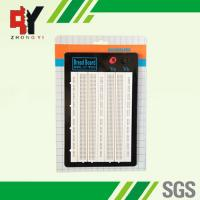 China White ABS Metal Reed Test Breadboard Electronics 1580 Tie - Point Universal Printed Circuit Board wholesale