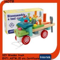 China En71 Wooden Toy Truck on sale
