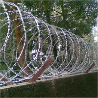 China Professional Modern Security Razor Barbed Wire Fencing High Tensile BTO-10 BTO-15 on sale