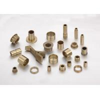 China Liquid Or Solid Lubricant Sintered Bronze Bearings / Plain Bearing Bush wholesale