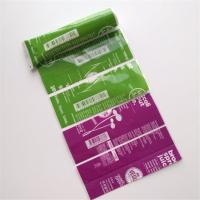 China Waterproof Printed Shrink Wrap Bottle Labels PVC/PET For Snack Food Vegus Juices wholesale