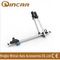 Quality Frame / Wheel bicycle jeep auto Adjustable Aluminum Roof Rack Bike Carrier for sale