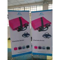 """China Adjustable X Stand Banners Pvc Film With Grommets Long Life Printed  32"""" X 70"""" wholesale"""