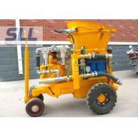 China Air Driven Concrete Shotcrete Machine With Rubber Sealing Plate Easy Operation wholesale
