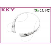 China Cell Phone Bluetooth 4.0 Headset With FCC / CE / RoHS 5 Hours Play Time wholesale