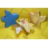 Nuts Food Grade Paper Gift Box Blue Moisture Proof Star Shape
