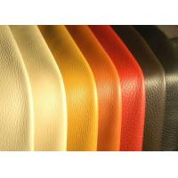 China Vintage Colors Bonded Eco Friendly Leather Upholstery Fabric With 1.4-1.6 mm Thickness wholesale