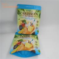 China Food grade stand up zip lock bag the self standing zipper foil bag for dry fruit and meant wholesale