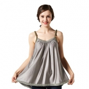 China EMF shielding 100%silver fiber bacterial-free maternity dress wholesale