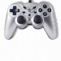 China Two-in-one PC USB Joypad with Turbo Function, Compatible with Microsoft's Xbox 360 wholesale