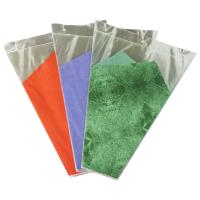 China Green / Purple / Orange Banquet Flower Wrapping Sleeves , Flowers Wrap Bags wholesale