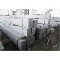 China Cutting Available Black / Galvanized Flat Bar with Flat Surface Square Edge wholesale