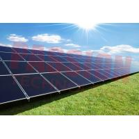 China Blue Titanium Coating Flat Plate Solar Collector , Solar Energy Collectors 2000*1250*80mm on sale