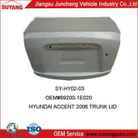 China Varied Kinds Of Auto Trunk Lid For Hyundai Accent on sale