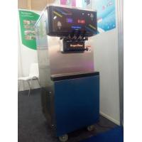 China 45L 400cones/Hour Oceanpower 3 flavors yogurt ice cream machine DW138TC on sale