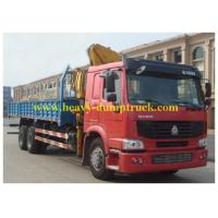 China SINOTRUK HOWO Truck Mounted Crane 6X4 RHD 12tons with warranty and spare parts wholesale