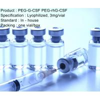China 3 mg/vial Recombinant Human PEG-G-CSF PEG-rhG-CSF Injection wholesale