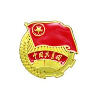 China Attractive Graph Custom Metal Pin Badges Double Colors Plating ODM / OEM Welcomed wholesale