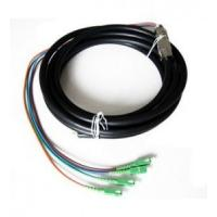 China Outdoor Waterproof Fiber Optic Pigtail Anti Corrosion Strong Tensile Ability wholesale
