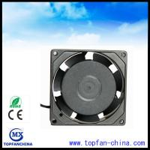 China 80mm X 80mm X 25mm Electric Exhaust Fans 25mm Mini Explosion Proof Ventilation Fan wholesale