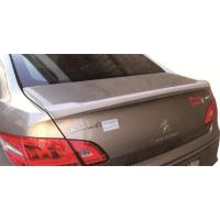 Buy cheap Plastic ABS Material Rear Lip Spoiler Keep Driving Stability Fit PEUGEOT 408 from wholesalers