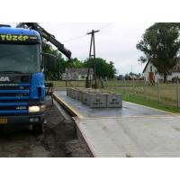 China HALF Structure Truck Weight Scale , pit or pitless weighbridge vehicle Weighing Scales 20kg 3m x 10m wholesale