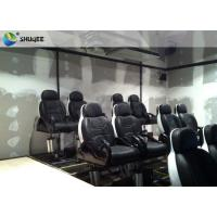 Buy cheap Unique 5D Movie Theater 2 / 3 / 4 People Capacity 380V Customized Logo from wholesalers