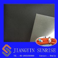 China Anti Static Pvc Synthetic Leather / Sofa Bed Faux Leather Material For Upholstery wholesale