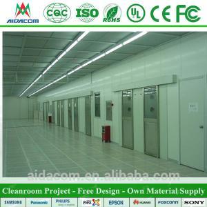China Sandwich Panel FDA Food Electronics Cleanroom Design wholesale