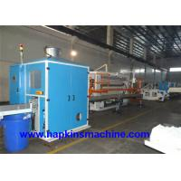 China Soft Bag Packing Facial Tissue Production Line With Tissue Cutting Machine wholesale