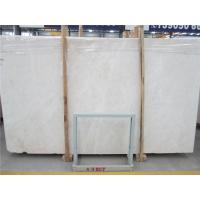 China Christmas Beige Marble Stone Slab Tiles Table Tops Counter Polished wholesale