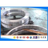 China H 13 Steel Hot Forged Rings / Forged Metal Rings With Polished Surface wholesale