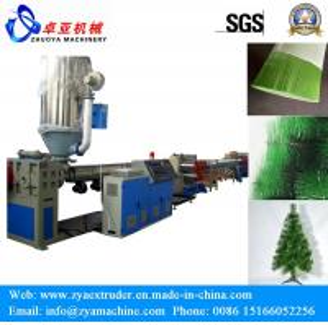 Decoration Artificial Christmas Tree Pet Pine Needle Filament Making Machine
