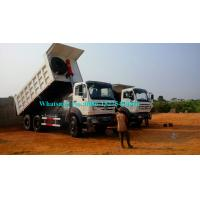 China LHD NG80B Cabin Heavy Duty Dump Truck BEIBEN Brand ND3253B38 High Speed wholesale