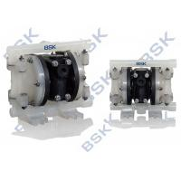Quality Pneumatic Air Operated Double Diaphragm Pump With Shut - Off Valves for sale