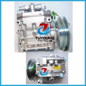 China oem ME121066 car a/c compressor for Mitsubishi Fuso Fighter truck auto air pump 24V 1B ACA200A007A FK337D-553073 FK337D5 on sale