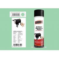 China Liquid Coating Animal Marking Paint Green Color For Pigs APK-6810-6 wholesale