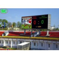 Buy cheap Soccer Scoreboard Stadium LED Display P6 Outdoor with Nationstar LED from wholesalers