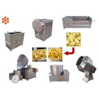 China 150kg/H Capacity Potato Chips Machine 304 Stainless Steel Material CE / ISO wholesale