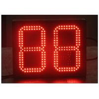 China 2 Digit LED Count UP / LED Count Down Timer / Time and Temperature Display / Digital LED Gas Station Sign 8.889 & 8.888 wholesale
