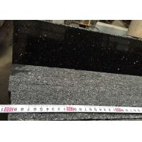 China Natural star golden Black galaxy Polished Indian Black Granite stone tiles slabs wholesale