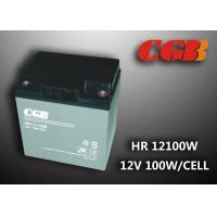 China 12V 28ah High Rate Rechargeable Vrla Battery , Agm Separator Sealed Deep Cycle Battery wholesale