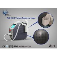 China Best Effective Laser Tattoo Removal Equipment Q Switch Nd Yag Laser With Spot Size Adjustable wholesale