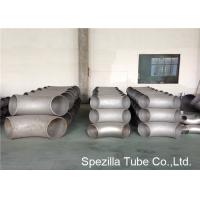 China 316 Stainless Steel Tube Fittings 90° Long Radius Elbow , ASTM A403 Butt Weld Tube Fittings wholesale