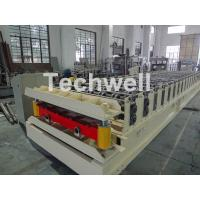 China Wall Cladding Roof Roll Forming Machine , Metal Forming Equipment Yield Strength 250-350Mpa wholesale