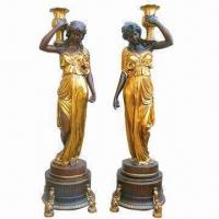 China Polyresin Statue Decoration, A Couple, Handmade Processing, Best Sellers wholesale