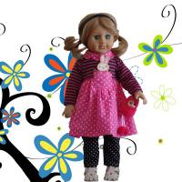 made in china 18 inch american girl vinyl doll with plush toy/wholesale vinyl dolls/girl doll joint movable